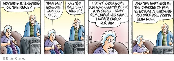 Comic Strip Brian Crane  Pickles 2012-02-22 bad