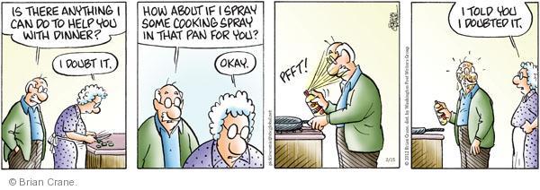 Comic Strip Brian Crane  Pickles 2012-02-25 supper