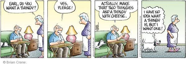 Comic Strip Brian Crane  Pickles 2012-02-28 dog food