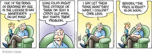 Comic Strip Brian Crane  Pickles 2012-03-03 reach