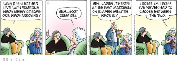 Comic Strip Brian Crane  Pickles 2012-03-09 relationship