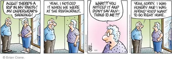 Comic Strip Brian Crane  Pickles 2012-03-15 AIDS