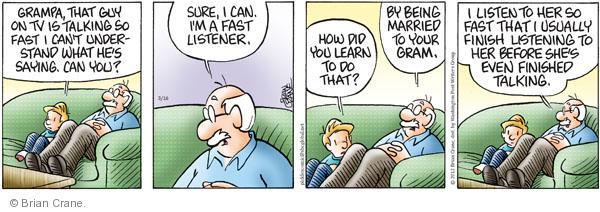 Comic Strip Brian Crane  Pickles 2012-03-16 relationship