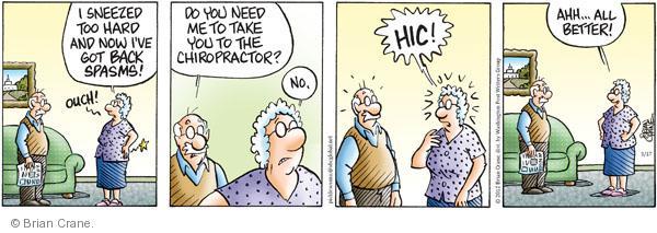 Comic Strip Brian Crane  Pickles 2012-03-17 too