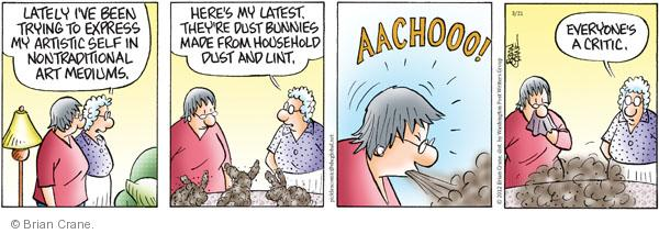 Comic Strip Brian Crane  Pickles 2012-03-21 latest