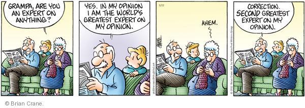 Comic Strip Brian Crane  Pickles 2012-03-22 relationship