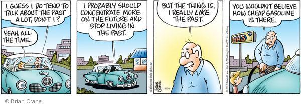 Comic Strip Brian Crane  Pickles 2012-03-30 gas