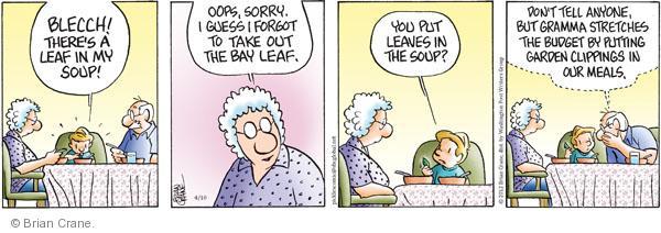 Comic Strip Brian Crane  Pickles 2012-04-10 clip