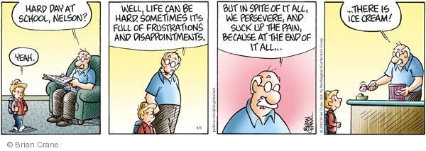 Comic Strip Brian Crane  Pickles 2012-04-06 frustration