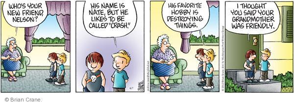 Comic Strip Brian Crane  Pickles 2012-04-07 destructive