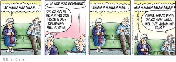 Comic Strip Brian Crane  Pickles 2012-04-17 medical advice