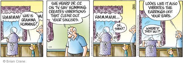 Comic Strip Brian Crane  Pickles 2012-04-18 medical advice