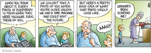 Comic Strip Brian Crane  Pickles 2012-04-21 take