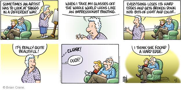 Comic Strip Brian Crane  Pickles 2012-04-01 take