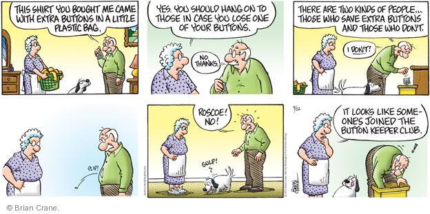 Comic Strip Brian Crane  Pickles 2012-04-22 lose