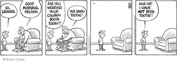 Comic Strip Brian Crane  Pickles 2012-05-12 Nelson