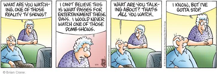 Comic Strip Brian Crane  Pickles 2012-05-15 reality