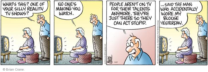 Comic Strip Brian Crane  Pickles 2012-05-17 shirt