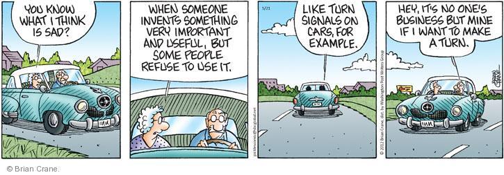 Comic Strip Brian Crane  Pickles 2012-05-21 car driver
