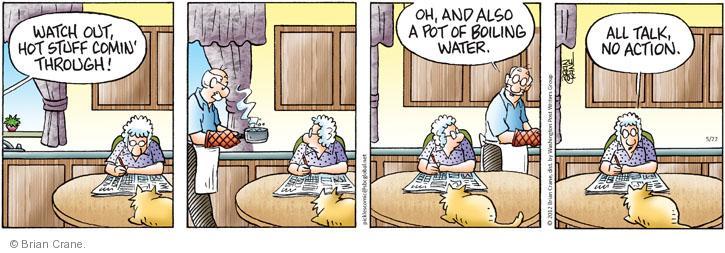 Comic Strip Brian Crane  Pickles 2012-05-22 watch out