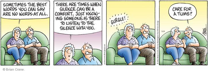 Comic Strip Brian Crane  Pickles 2012-05-24 silent