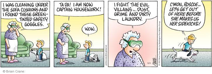Comic Strip Brian Crane  Pickles 2012-05-25 dirty laundry