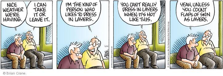 Comic Strip Brian Crane  Pickles 2012-05-30 take