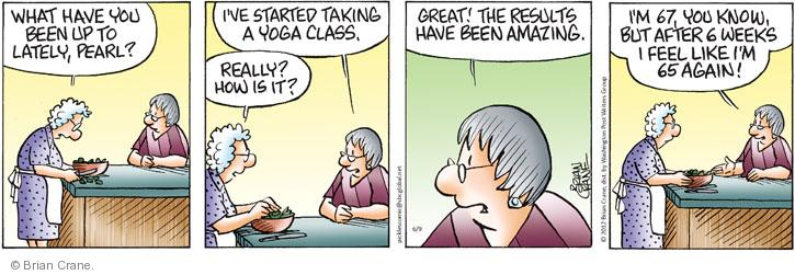 Comic Strip Brian Crane  Pickles 2012-06-09 health fitness