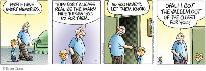 Comic Strip Brian Crane  Pickles 2012-06-13 housekeeping