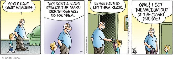 Comic Strip Brian Crane  Pickles 2012-06-13 husband