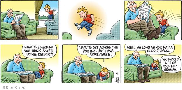 Comic Strip Brian Crane  Pickles 2012-06-17 Nelson