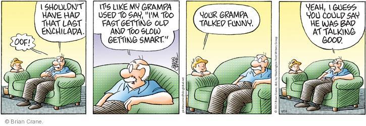 Comic Strip Brian Crane  Pickles 2012-06-18 good
