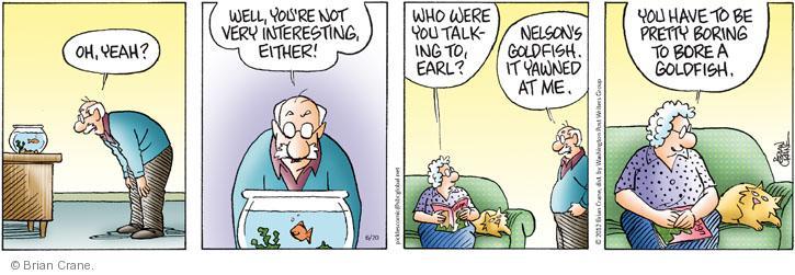 Comic Strip Brian Crane  Pickles 2012-06-20 uninteresting