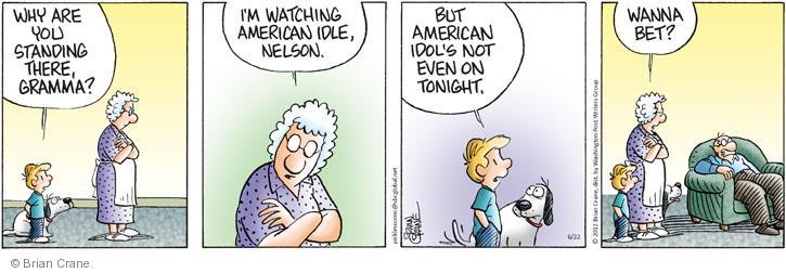 Comic Strip Brian Crane  Pickles 2012-06-22 laziness