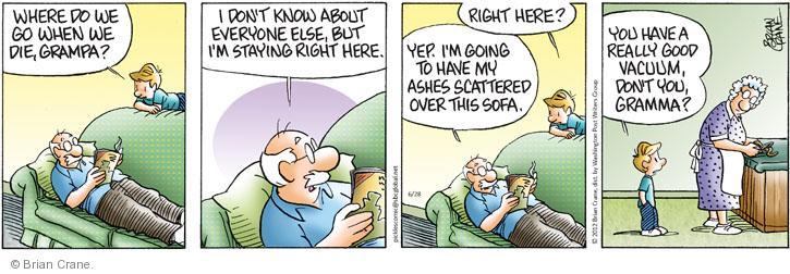 Comic Strip Brian Crane  Pickles 2012-06-28 good