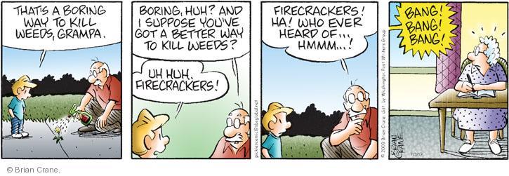 Comic Strip Brian Crane  Pickles 2012-07-03 hear