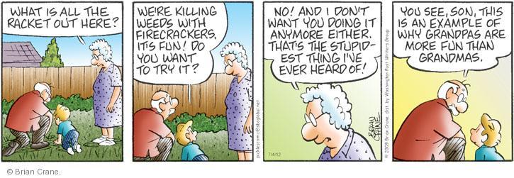 Comic Strip Brian Crane  Pickles 2012-07-04 hear
