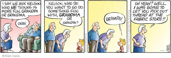 Comic Strip Brian Crane  Pickles 2012-07-06 store
