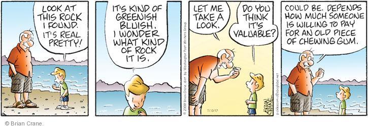 Comic Strip Brian Crane  Pickles 2012-07-10 take