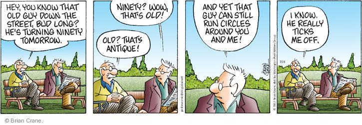 Comic Strip Brian Crane  Pickles 2012-07-21 guy