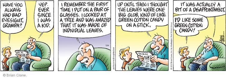 Comic Strip Brian Crane  Pickles 2012-07-26 leaf