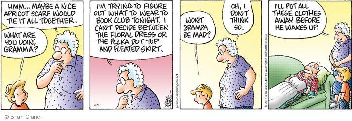 Comic Strip Brian Crane  Pickles 2012-07-28 wake