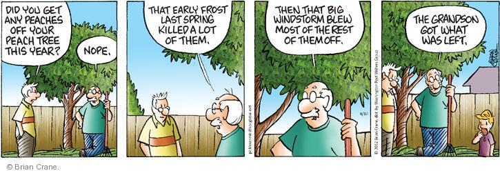 Comic Strip Brian Crane  Pickles 2012-08-17 early