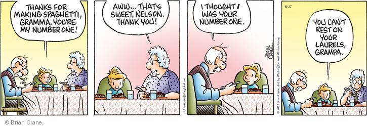 Comic Strip Brian Crane  Pickles 2012-08-27 rank