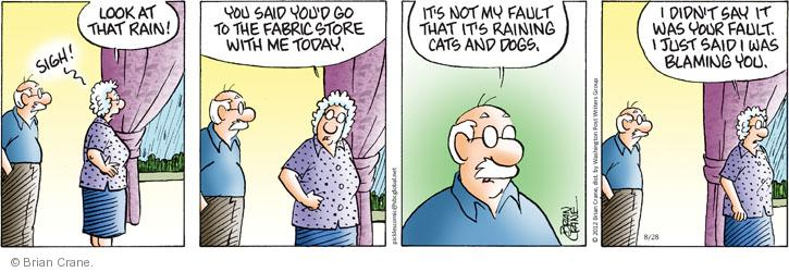 Comic Strip Brian Crane  Pickles 2012-08-28 store