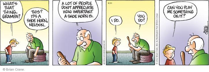 Comic Strip Brian Crane  Pickles 2012-08-30 fit
