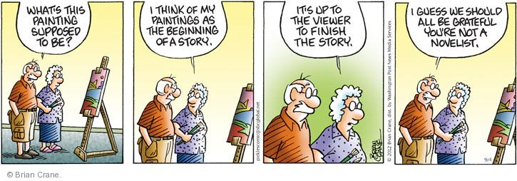Comic Strip Brian Crane  Pickles 2012-09-04 creativity