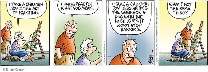 Comic Strip Brian Crane  Pickles 2012-09-05 act