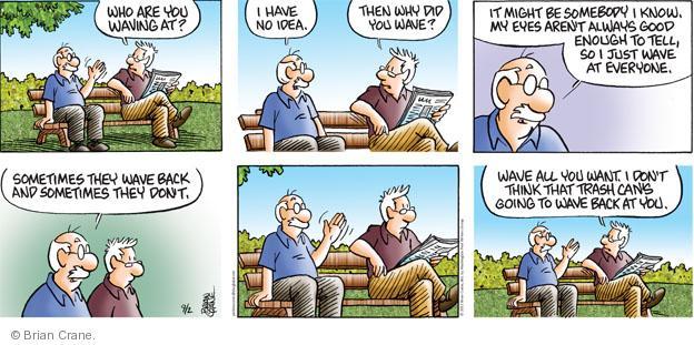Comic Strip Brian Crane  Pickles 2012-09-02 age