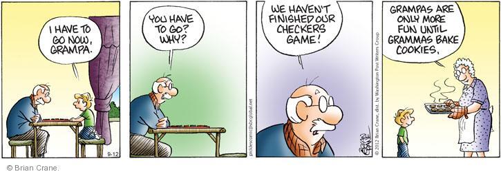 Comic Strip Brian Crane  Pickles 2012-09-12 have fun